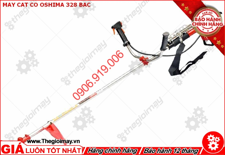 Máy cắt cỏ Oshima 328 bạc