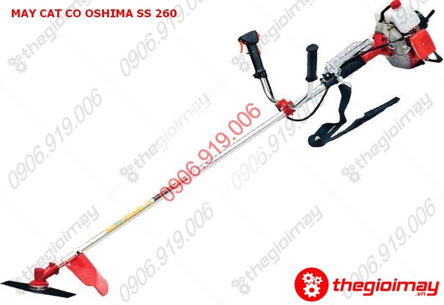 Máy cắt cỏ Oshima SS260 cần xoay