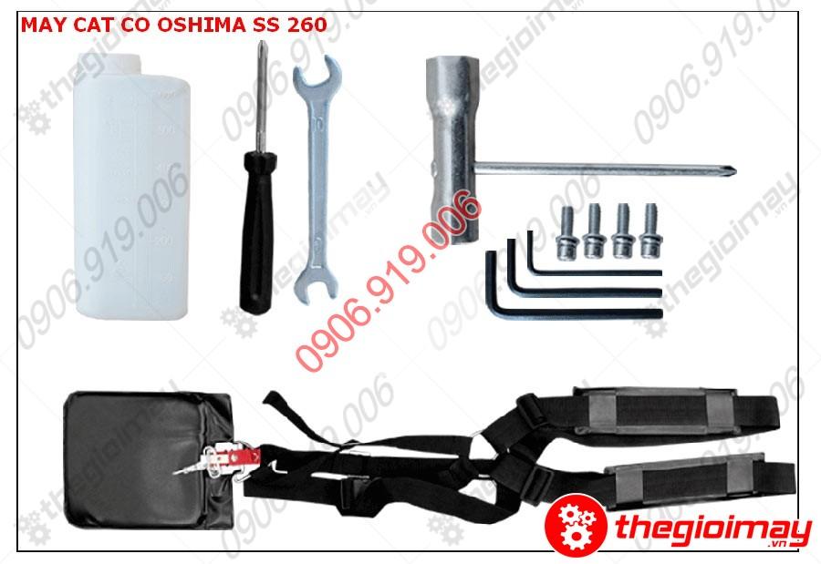 Phụ kiện máy cắt cỏ Oshima SS260 cần xoay