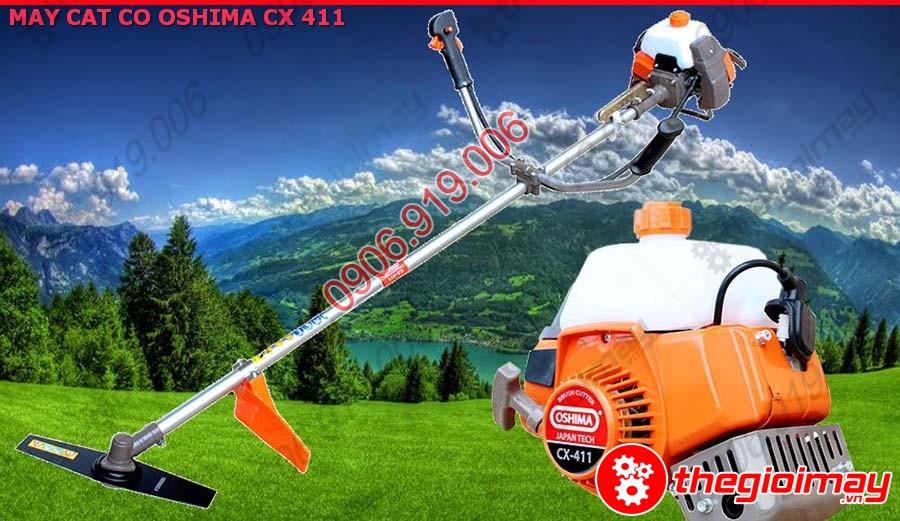 Máy cắt cỏ Oshima CX-411