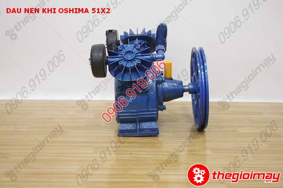 mặt hông phải đầu nén khí oshima 51x2