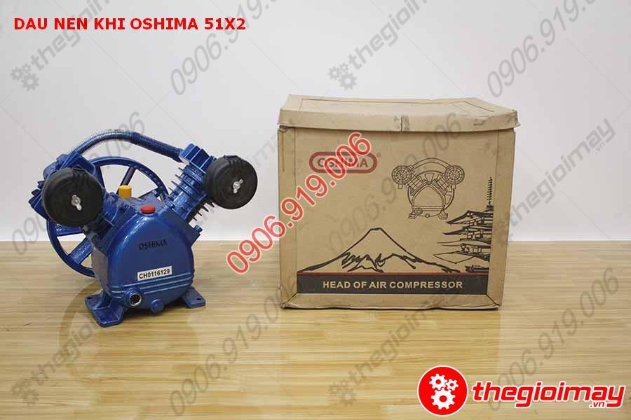 tổng quan đầu nén khí oshima 51x2