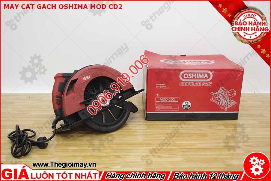 Máy cưa đĩa Oshima mod CD2