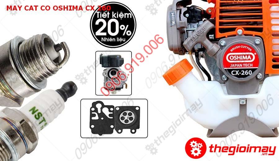 Ưu điểm của máy cắt cỏ Oshima CX-260