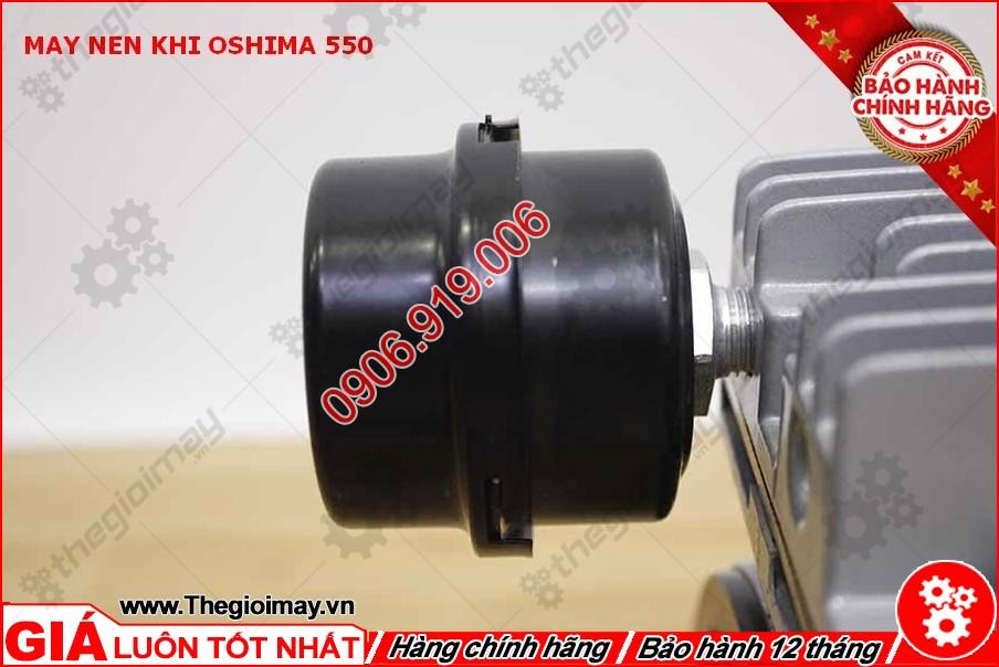 lọc âm và khí đầu nén khí không dầu oshima 550