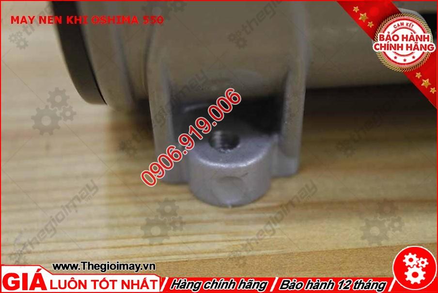 Chân đế đầu nén khí không dầu oshima 550