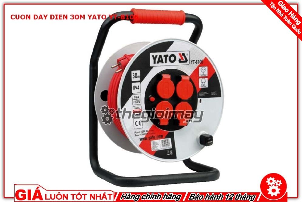 Cuộn dây điện Yato YT-8106