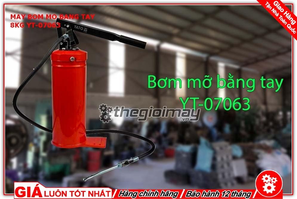 Máy bơm mỡ bằng tay YT-07063