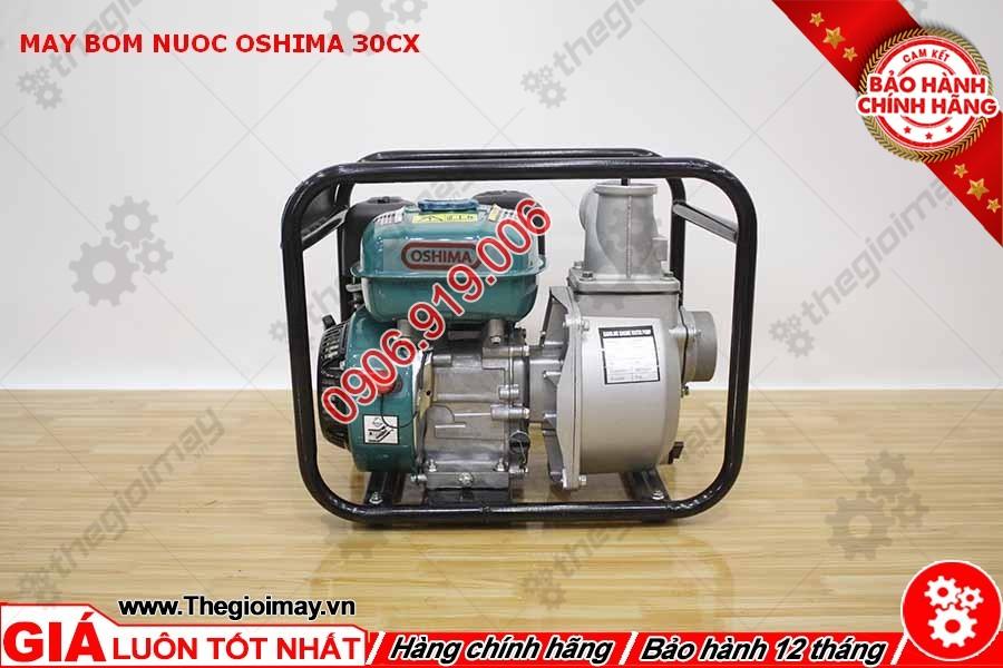 Mặt hông máy bơm nước oshima OS 30CX (OS30)