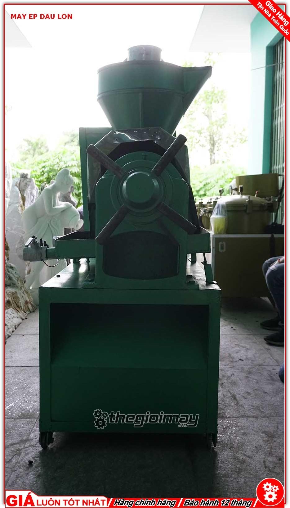Mặt hông máy ép dầu OKASU OKA 95A