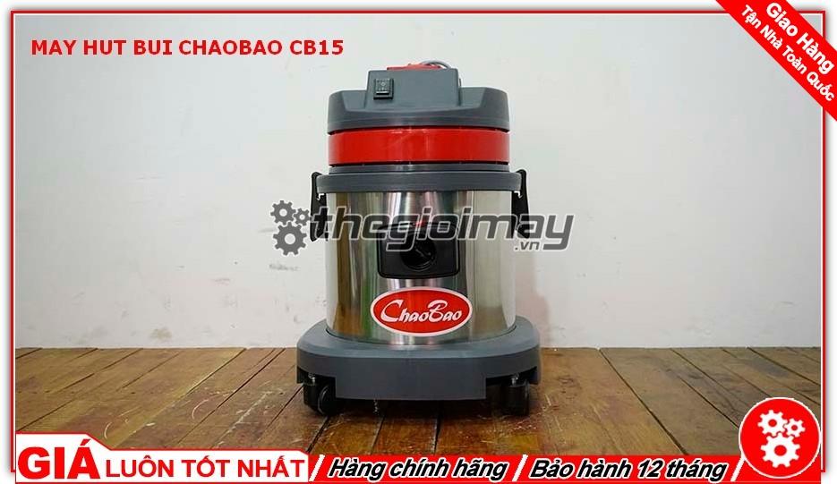 Mặt trước máy hút bụi ChaoBao CB15 (15L)