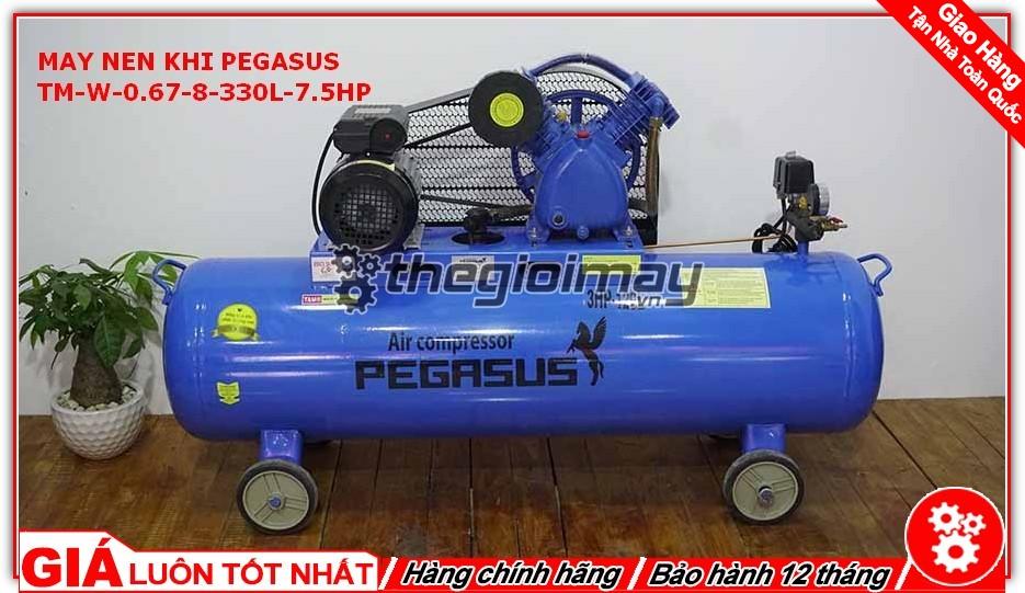 Máy nén khí dây đai Pegasus TM-W-0.67/8-330L-7.5HP