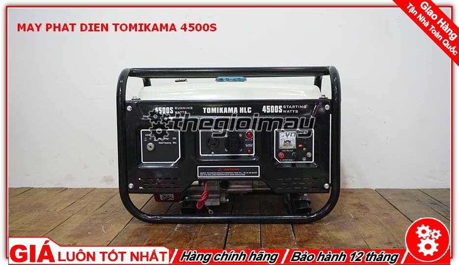 Máy phát điện TOMIKAMA 4500S