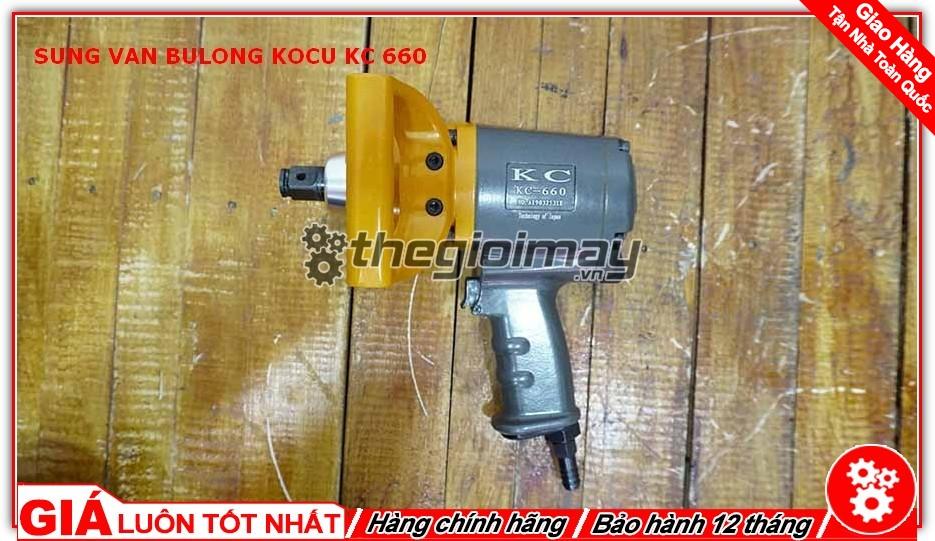 Máy mở bu lông Kocu KC-660