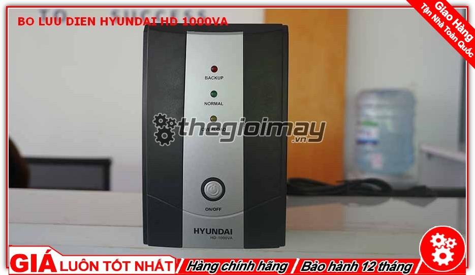 Bộ lưu điện Hyundai HD 1000VA