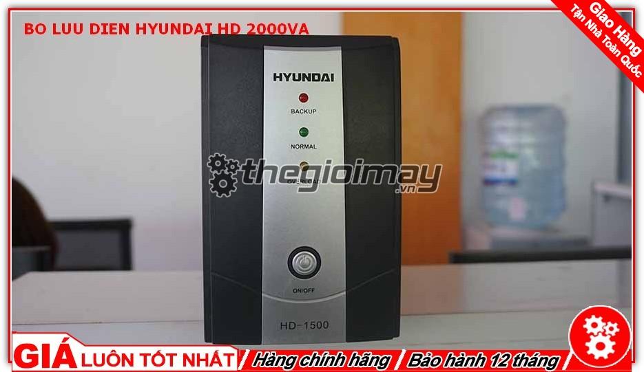 Bộ lưu điện Hyundai HD 2000VA