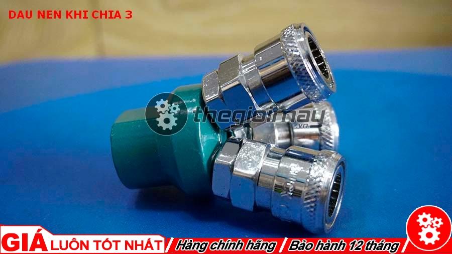 Đây là thiết bị chuyên dùng để lắp vào đầu ra của máy nén khí hoặc trên các đường ống dẫn khí trong nhà xưởng