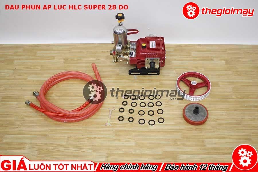 Phụ kiện đi kèm đầu xịt HLC super 28 đỏ