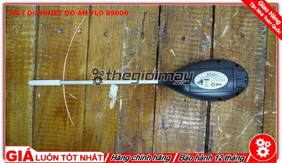 Mặt sau máy đo nhiệt độ - độ ẩm - PH - Ánh sáng Flo-89000