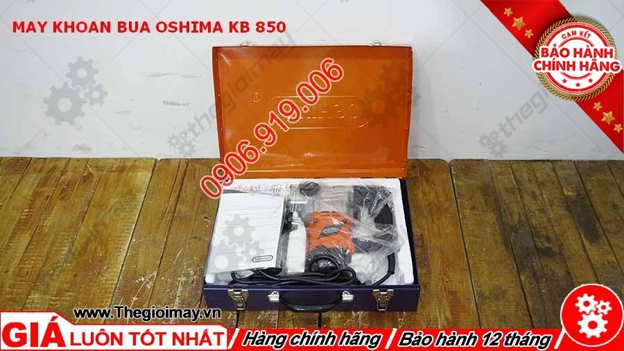 Máy khoan búa Oshima KB chính hãng 850