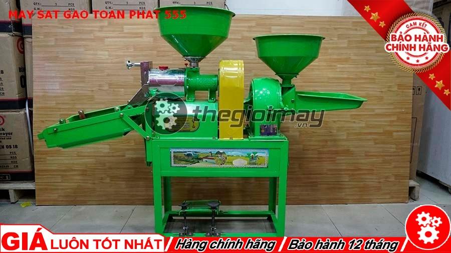 Máy xát gạo Toàn Phát 555