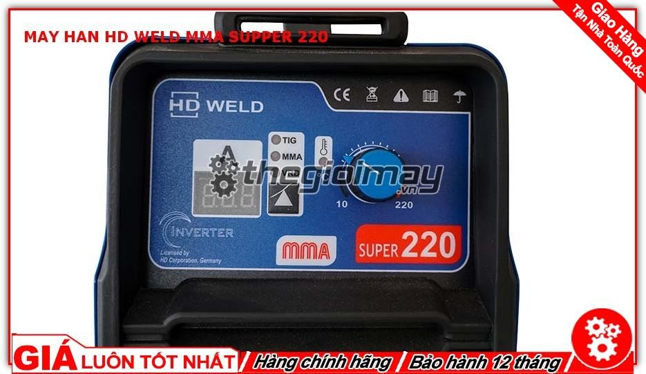 Núm vặn chỉnh dòng máy hàn HD MMA supper 220
