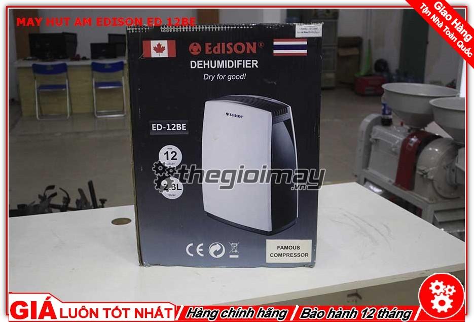 Thùng máy hút ẩm Edison ED-12BE