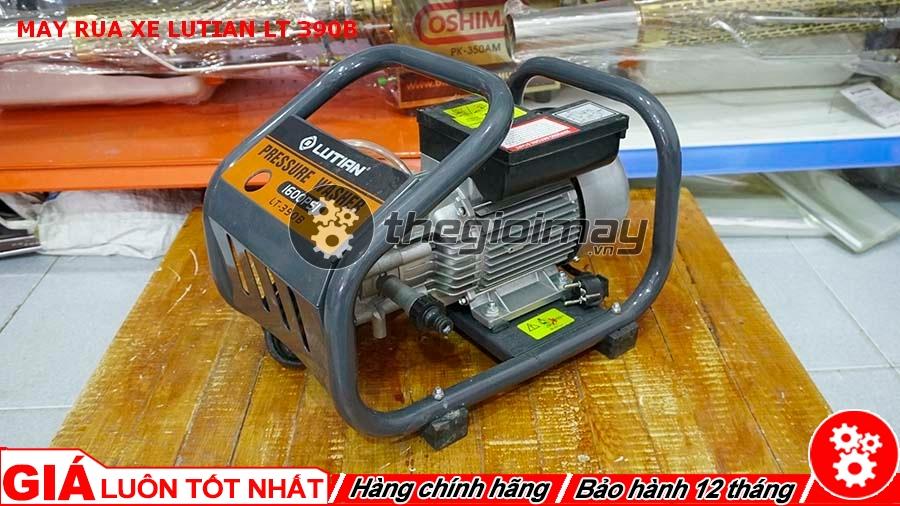 Máy rửa xe gia đình Lutian LT-390B phù hợp rửa xe ô tô, xe máy trong các cơ quan, gia đình hoặc được các thợ dùng vệ sinh điều hòa, máy lạnh, tiệm rửa xe máy, xịt rửa sân vườn...