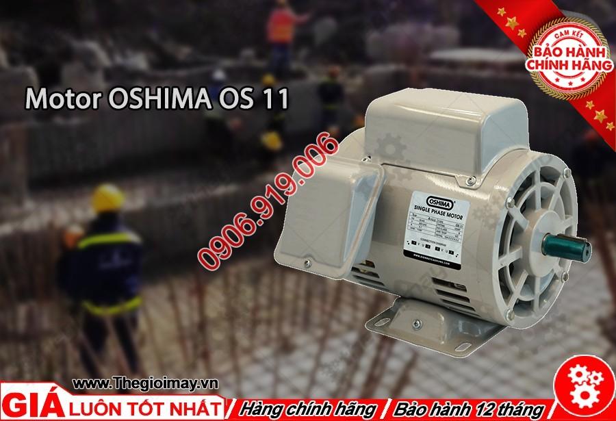 Mặt trước motor oshima OS 11