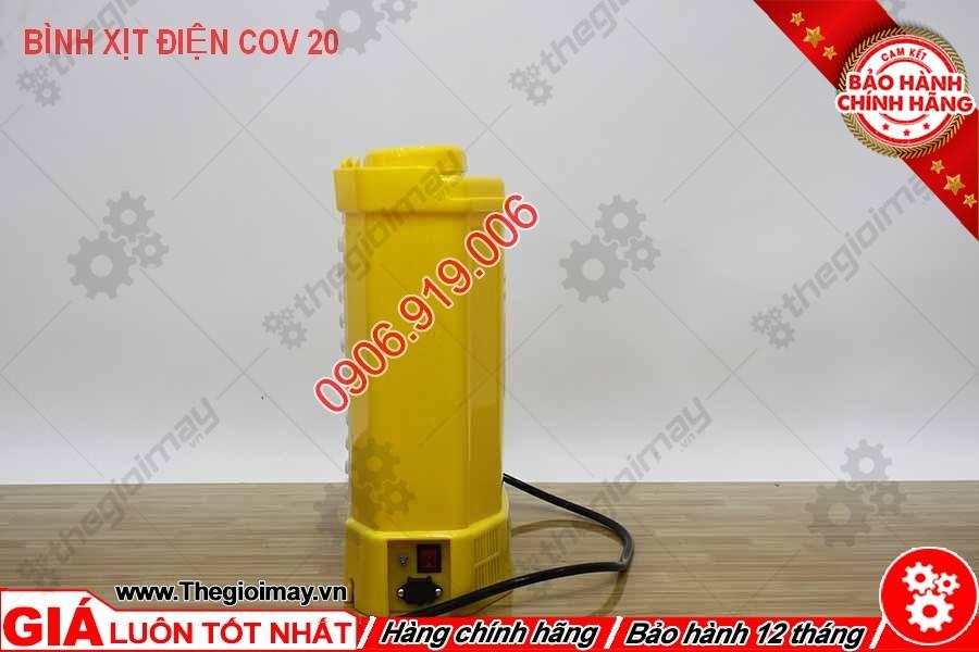 Mặt hông bình xịt điện con ong vàng COV 20D