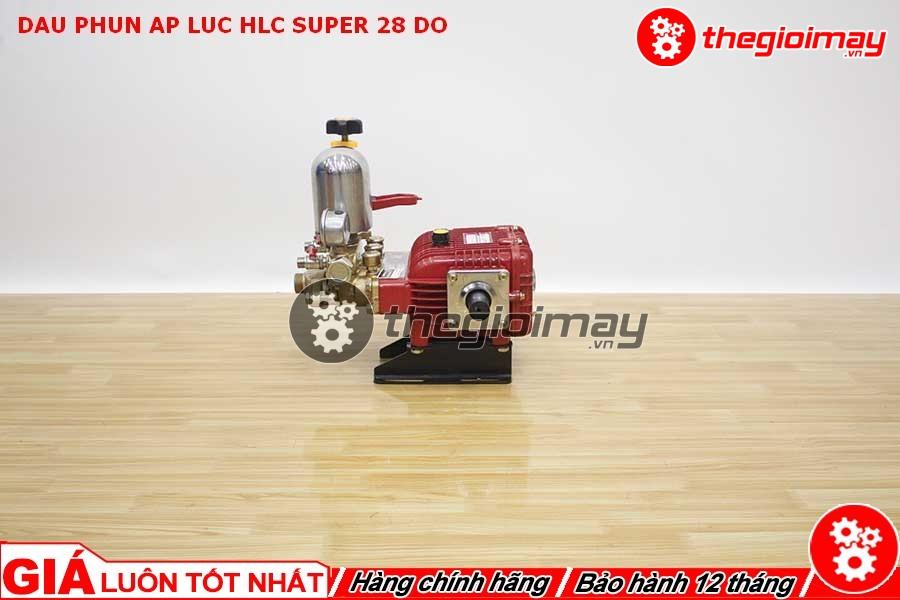 Đầu xịt áp lực HLC super 28 được dùng để vệ sinh nhà cửa, rửa xe gia đình, xịt rửa dụng cụ, sân vườn,…