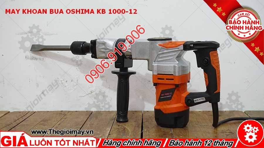 Máy khoan búa Oshima KB 1000-12