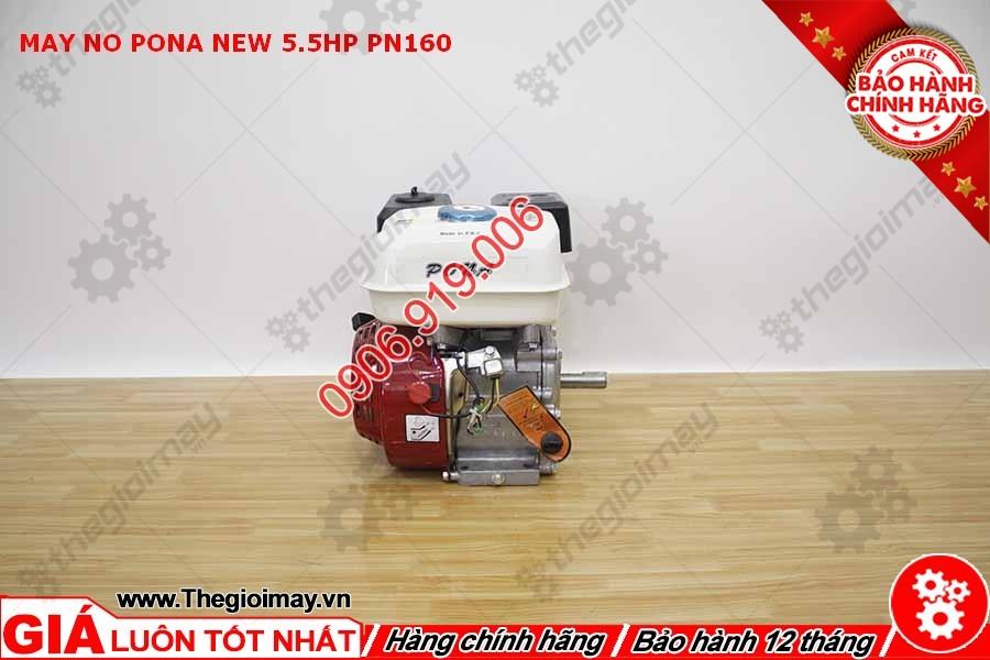 Máy nổ Pona Pn160 là sản phẩm được người tiêu thụ tin dùng trong chạy ghe xuồng, động cơ cho máy tuốt lúa, máy khoan cắt bê tông,...