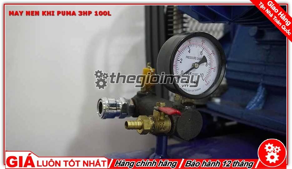 Van xả của máy nén khí PUMA 3HP-100L