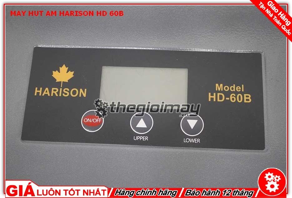 Bảng hiển thị máy hút ẩm Harison HD-60B