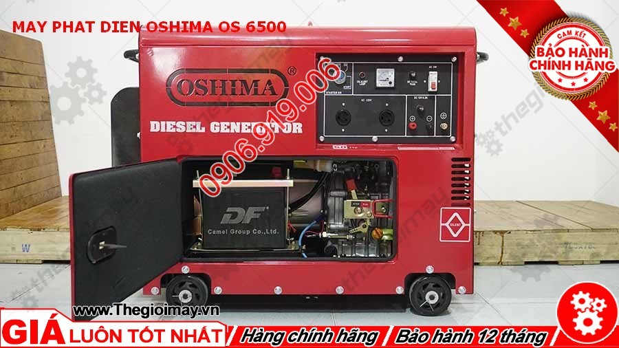 Máy phát điện Oshima OS 6500