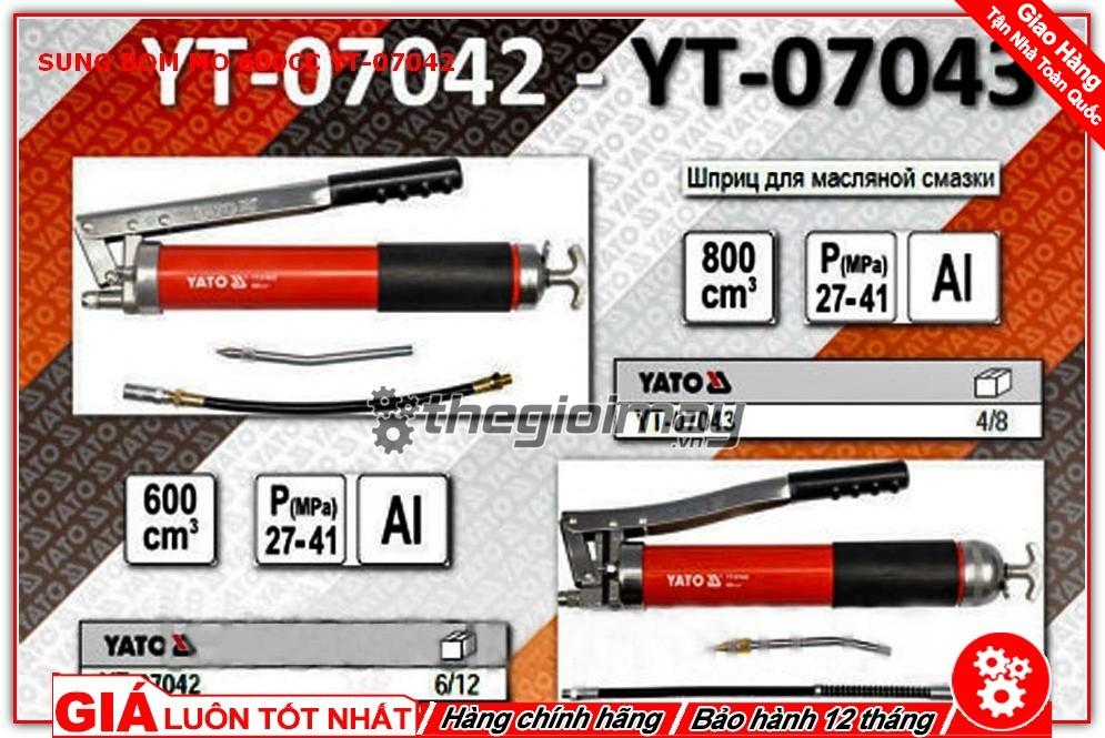 Thông số kỹ thuật của YT-07042