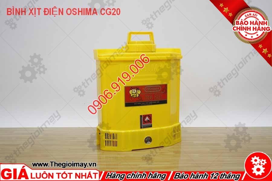 Bình xịt điện Oshima CG 20 chất lượng