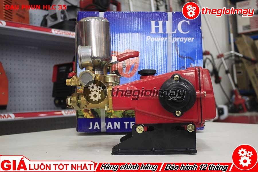 Đầu xịt HLC-35 đỏ được dùng để vệ sinh nhà cửa, rửa xe gia đình, xịt rửa dụng cụ, sân vườn,…