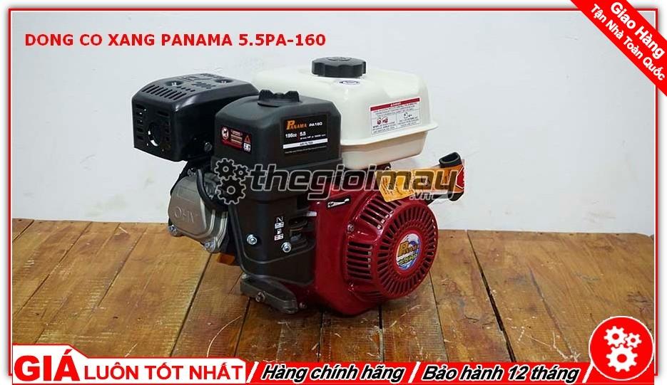 Động cơ xăng PANAMA là sản phẩm được người tiêu thụ tin dùng trong chạy ghe xuồng, động cơ cho máy tuốt lúa, máy khoan cắt bê tông,