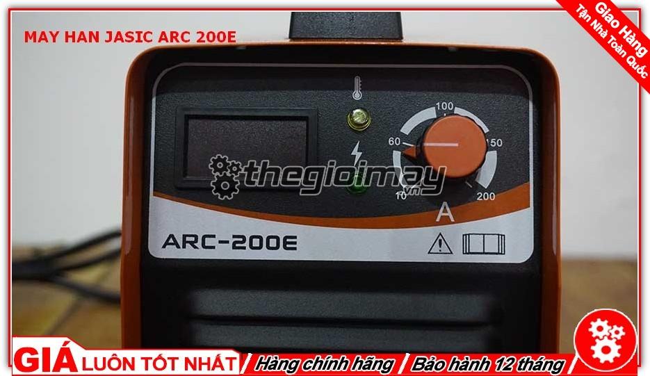 Bảng hiển thị máy hàn Jasic ARC 200E