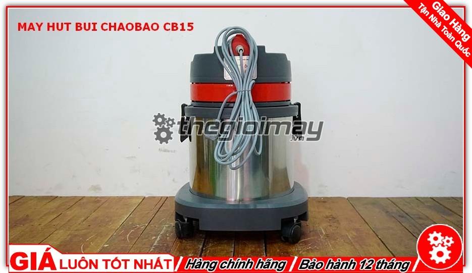 Mặt sau máy hút bụi ChaoBao CB15 (15L)