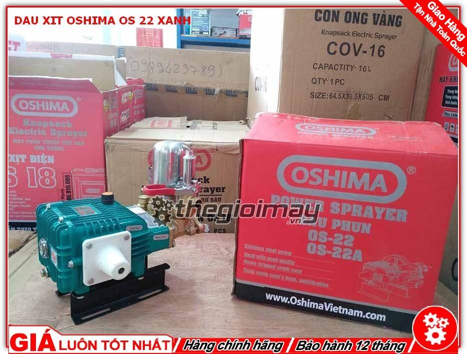 Đầu xịt Oshima OS 22 xanh chất lượng