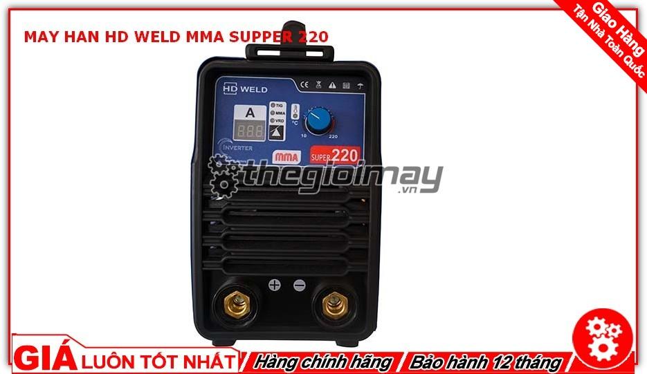 Mặt điều khiển máy hàn HD MMA supper 220