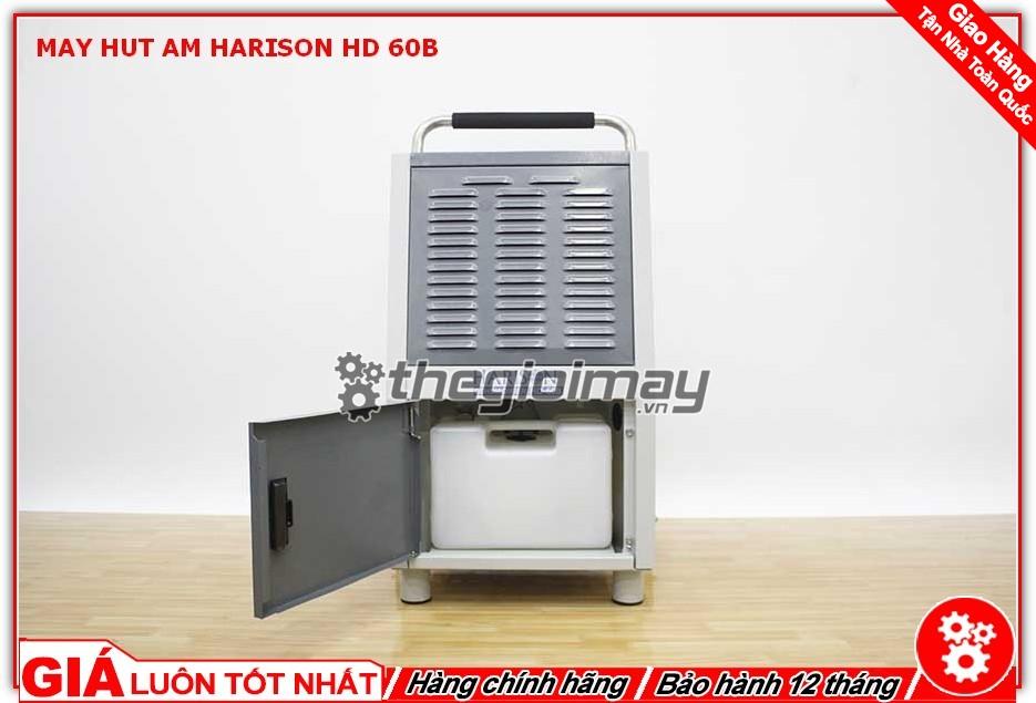 Mặt trước máy hút ẩm Harison HD-60B