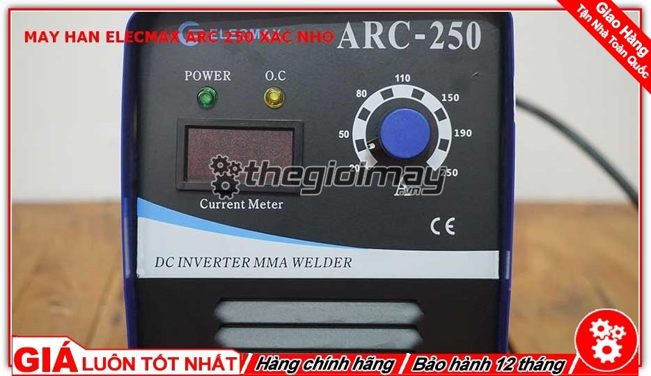 Bảng điều khiển máy hàn Elecmax ARC 250 xác nhỡ