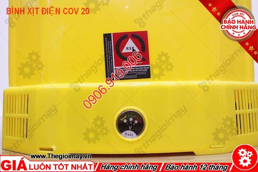 Đồng hồ đo vol bình xịt điện con ong vàng COV 20D
