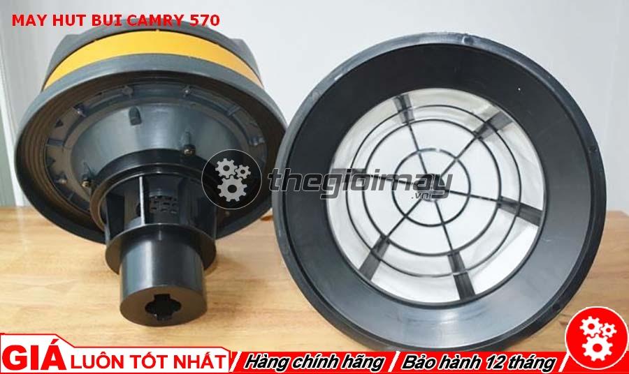 Động cơ và màng lọc máy hút bụi Camry 570