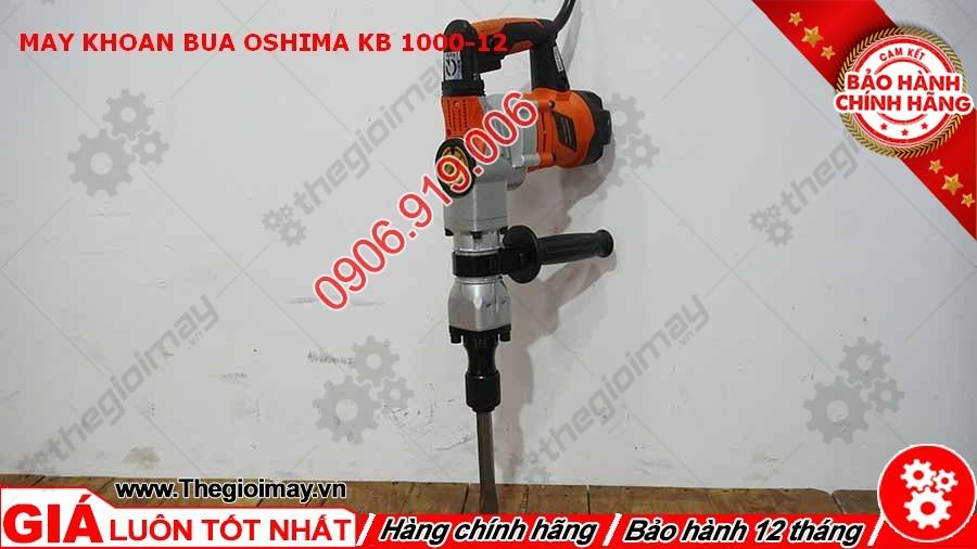 Máy khoan búa Oshima KB 1000-12 chất lượng