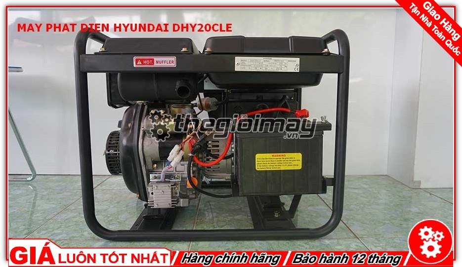 Máy phát điện HYUNDAI DHY20CLE chất lượng